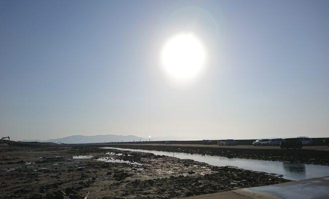 日和埠頭からの景色