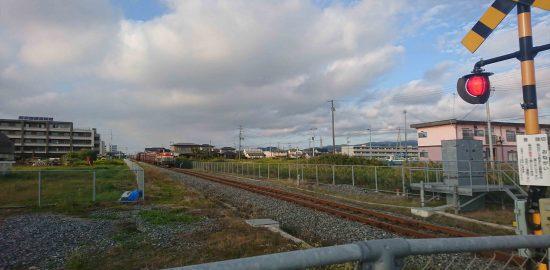 線路から見えた貨物